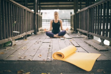 jóga á morgnanna