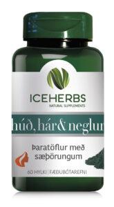 iceherbs húð hár og neglur